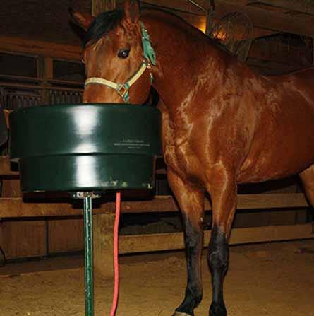 Plastic animal feeder / horse feed design using rotational molding