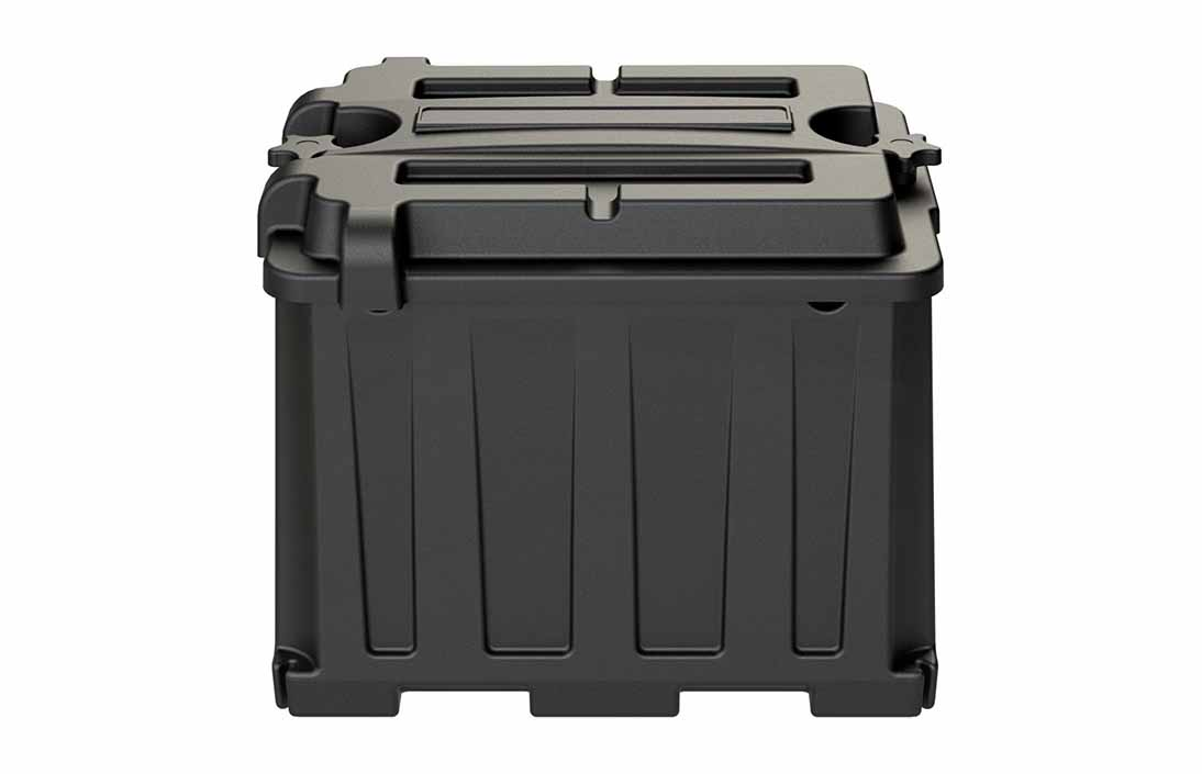 Plastic box design - rotational molding design