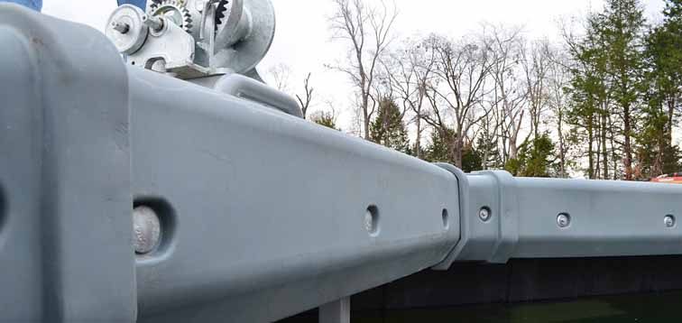 Rotomolded dock design / plastic dock design using rotational molding