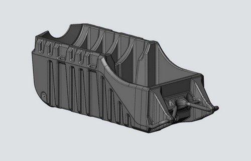 Blue-Reed Product Design / Plastic IBC design rotational molding