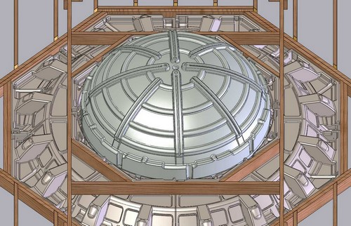 Dome Ceiling Insert Rotational Molding Design / Product Design