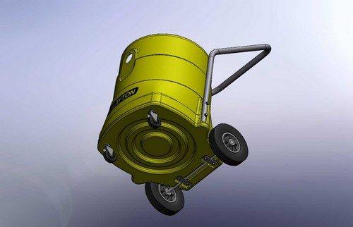 Plastic vacuum design / rotational molding design